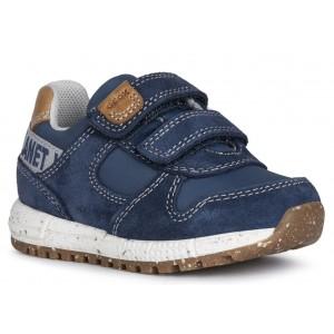 Sneakers Geox B Alben Boy Navy Avio