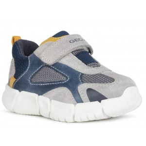 Sneakers Geox B Flexyper Boy Grey Navy