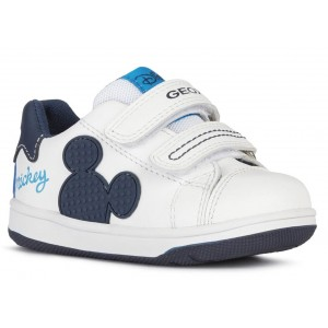 Sneakers Geox B New Flick Boy White Navy