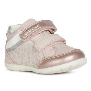 Sneakers Geox B Elthan Girl Light Rose Silver
