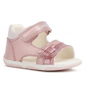Sandale Geox Baby Tapuz Girl Light Pink
