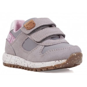 Sneakers Geox B Alben Girl Grey