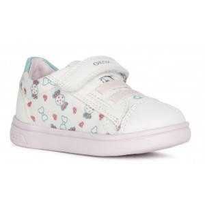 Sneakers Geox B Djrock Girl White