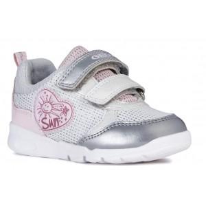 Sneakers Geox B Runner Girl Silver Pink