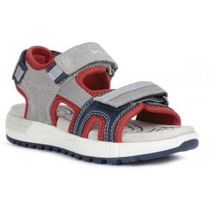 Sandale Geox J Alben Boy Grey