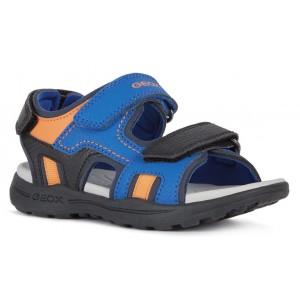Sandale Geox J Vaniett Boy Royal Orange