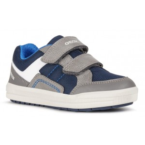 Sneakers Geox J Arzach Boy Navy Grey