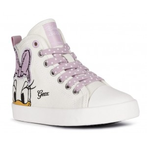 Sneakers Geox Jr Ciak Girl Off White Pink