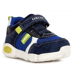 Sneakers Geox B Pillow Boy Navy Lime