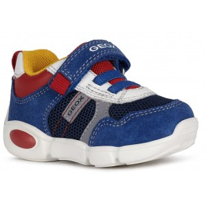Sneakers Geox B Pillow Boy Royal Red