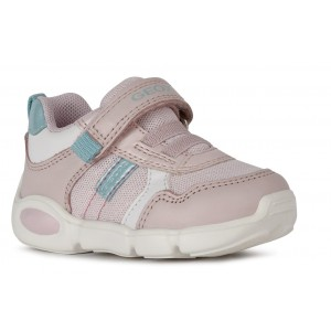 Sneakers Geox B Pillow Girl Light Rose White