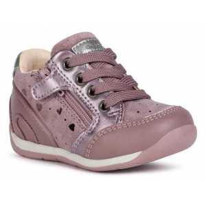 Sneakers Geox B Each Girl B Each G C Pr.Go.Su Pear.Sy - Dk Pink