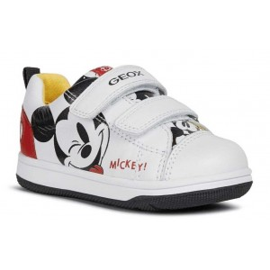 Pantofi Geox New Flick Boy B N Flick B A Nap Gbk - White Red