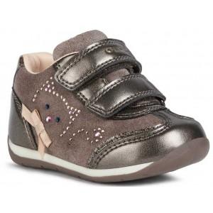 Sneakers Geox B Each Girl Smoke Grey
