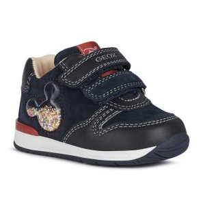 Pantofi Geox B Rishon Boy Navy