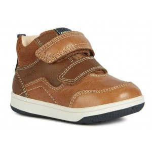 Ghete Geox B New Flick Boy Brandy