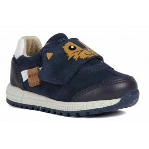 Sneakers Geox B Alben Boy Navy