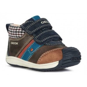 Ghete Geox B Toledo Boy Coffee Navy