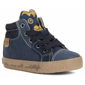 Ghete Geox B Kilwi Boy Navy