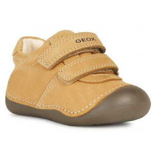 Pantofi Geox B Tutim Nbk Lea Biscuit