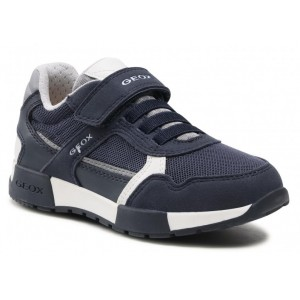 Sneakers Geox J Alfier Boy B A Navy Dark Grey