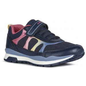 Sneakers Geox J Pavel Girl Navy Multicolor
