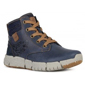 Ghete Geox J Flexiper Boy Navy