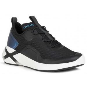 Sneakers Geox J Playkix Boy J04DDA 011BC C9999 Black