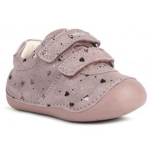 Pantofi Geox B Tutim B9440B 00722 C8006 Dk Pink