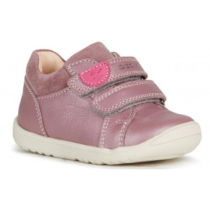 Pantofi Geox B Macchia Girl B164PA 04422 C8007 Dk Rose