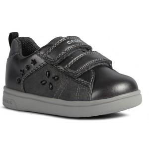 Sneakers Geox B Djrock Girl B161WA 0AJ77 C9002 Dark Grey