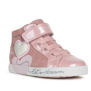 Sneakers Geox B Kilwi Girl B16D5B 022HI C8025 Rose Smoke