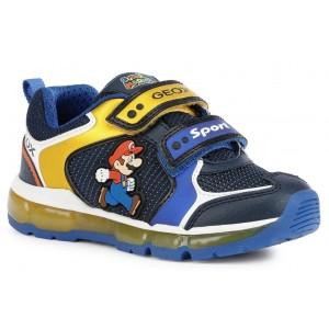 Sneakers Geox J Android Boy J1644A 0FU50 C0335 Royal Yellow