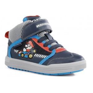 Sneakers Geox J Arzach Boy J164AB 05411 C4226 Navy Royal
