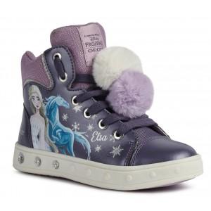Sneakers Geox J Skylin G. C J168WC 000NF C8406 Purple Mauve