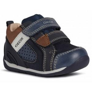 Sneakers Geox B Each B. B B160BB 0CL22 C4220 Navy Lt Brown