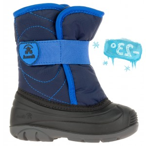 Cizme de zăpadă Kamik Snowbug3 Navy